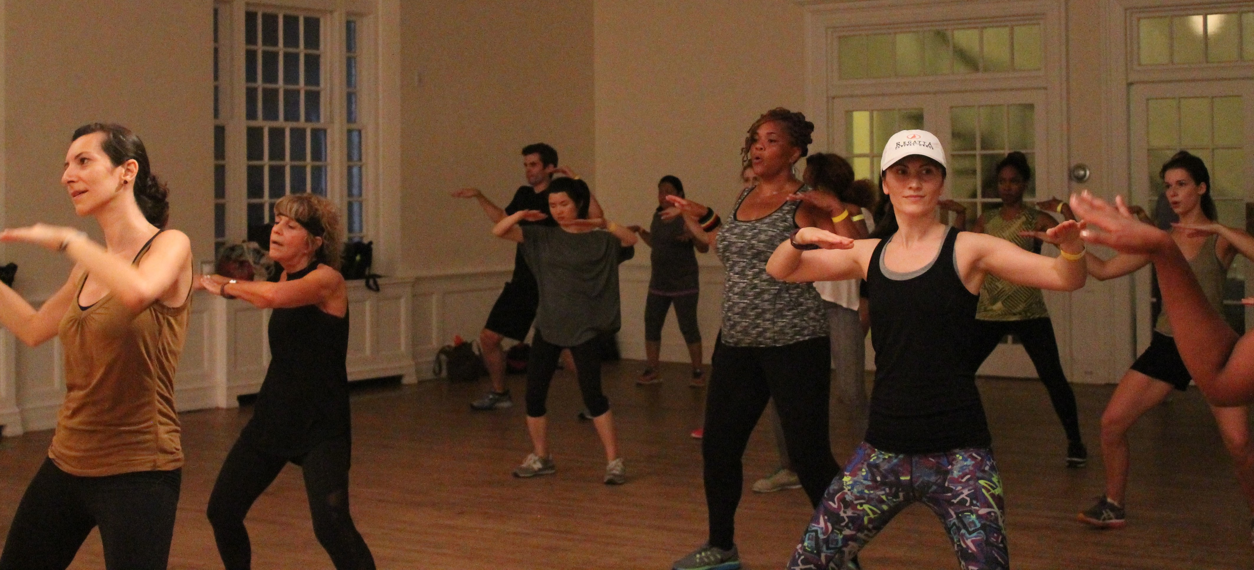 Philly Dance Day Zumba class. Source.