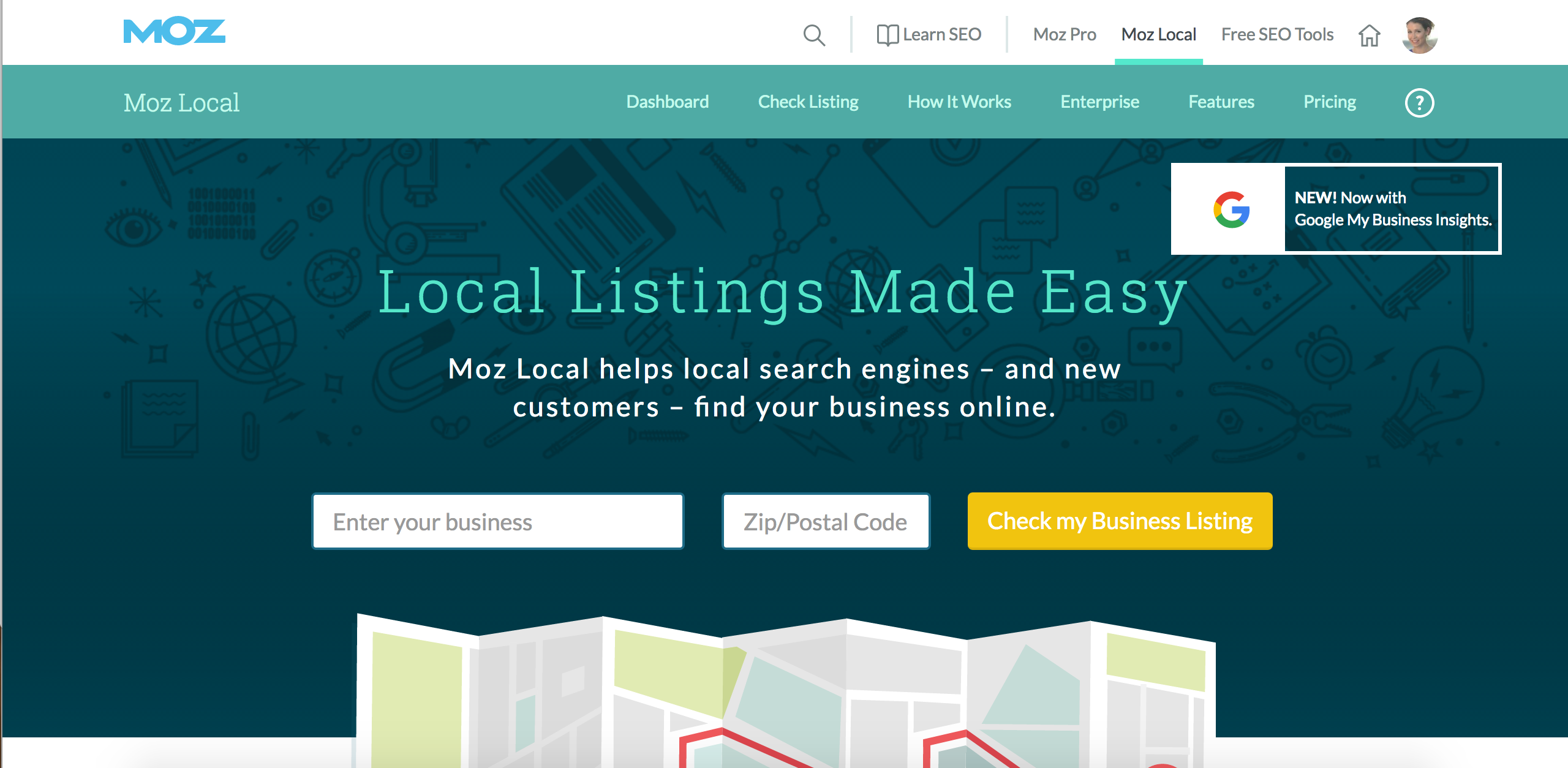 Moz's MozLocal product