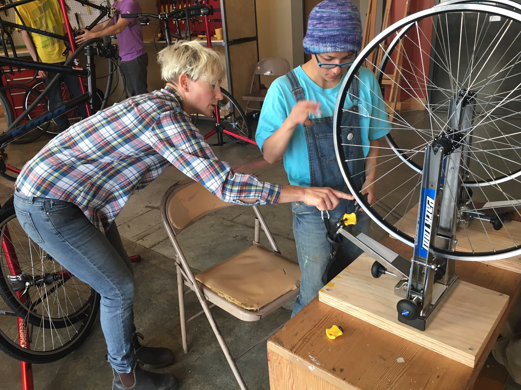 P:ear bike mechanic school